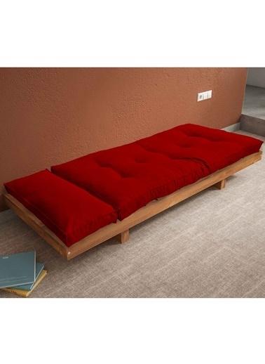 Woodesk Arin Masif Tik-Yeşil Renk Sedir Kırmızı